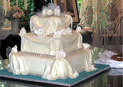 Свадебный торт – история, обычаи