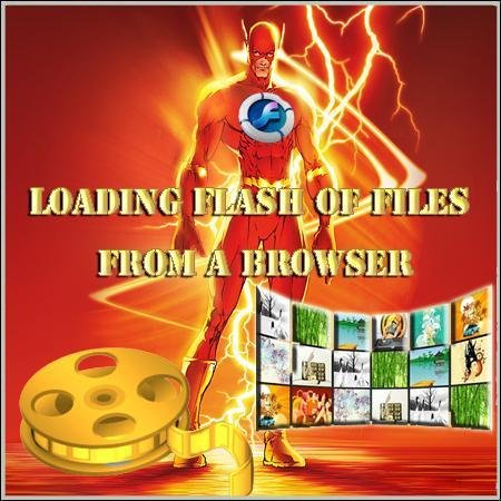 Loading Flash of files from a browser