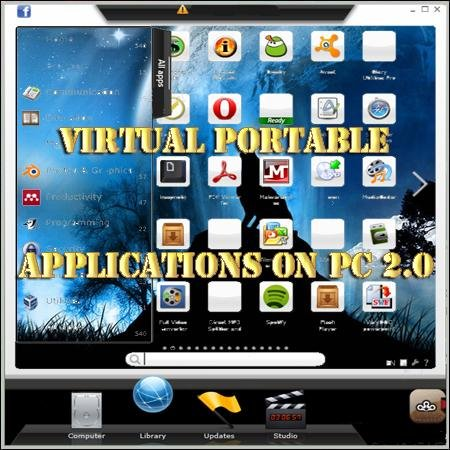 Virtual portable applications on PC 2.0